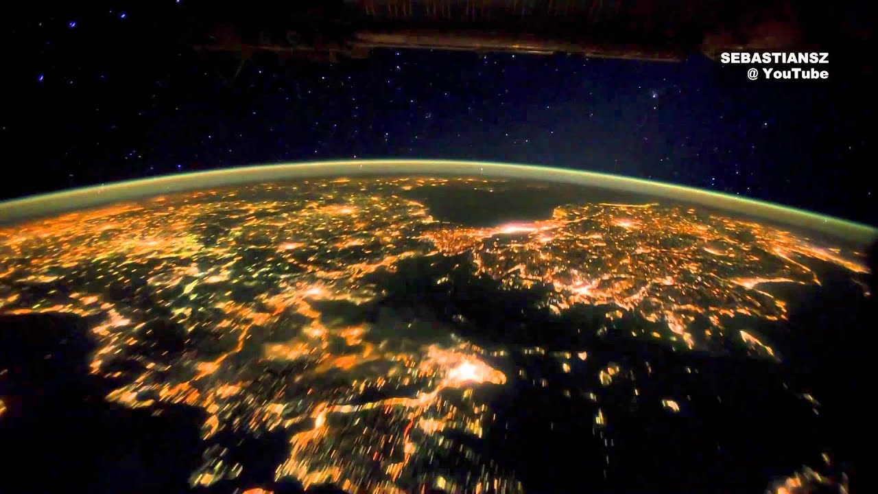 Planet Earth - Earth Orbit from the Inernational Space ...
