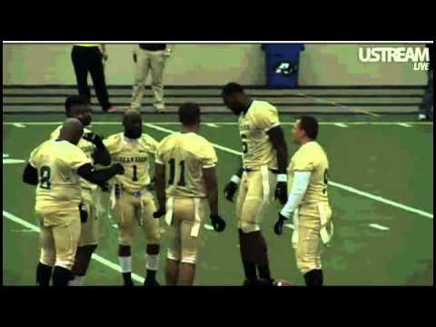 52801df5c8e9 Lebron James vs Kevin Durant Flag Football Classic - Part 1 - YouTube