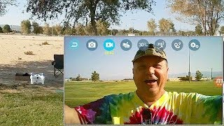 Upgraded Cheerson CX-OF 720p HD FPV Dancing Position Hold Selfie Drone Flight Test Review