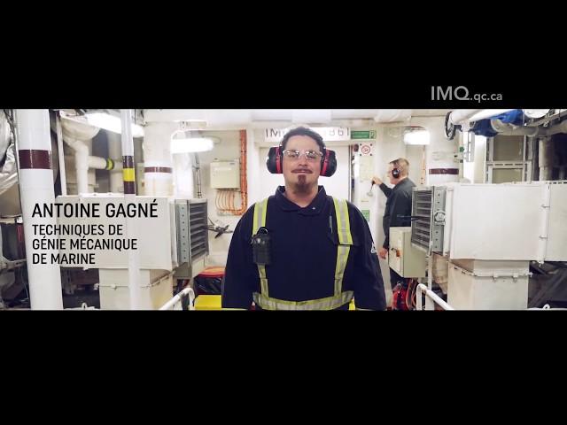 Techniques de génie mécanique de marine - Institut maritime du Québec