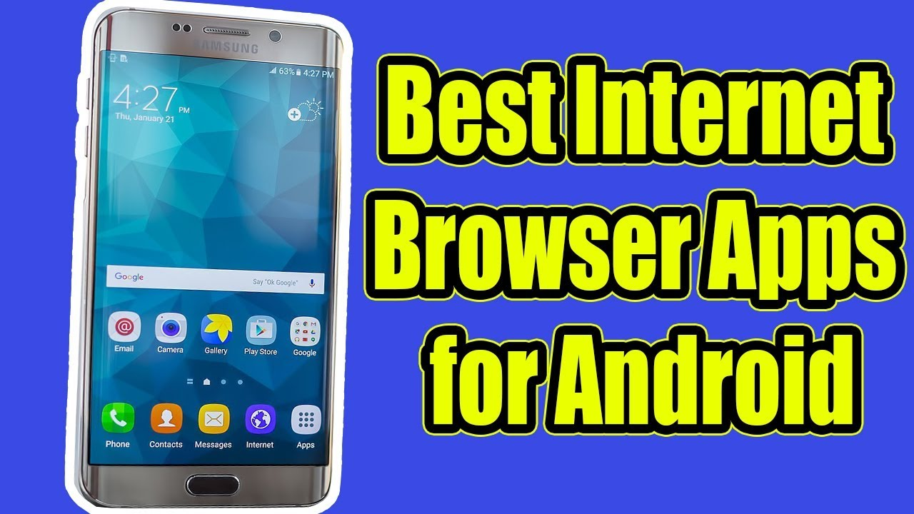 Best Internet browser Apps for Android (4G Speed)