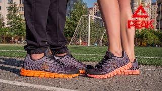Кроссовки для спорта мужские E71277H-BLA ✓ женские E71278H-BLA ✓ PEAK Sport  ... 28320fa53f333