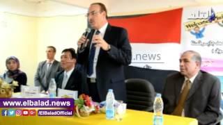 محافظ بني سويف يستقبل سفير اليابان ويشيد بتجربتهم التعليمية..فيديو