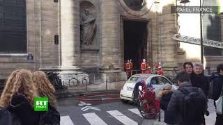 Paris : les pompiers viennent à bout de l'incendie dans l'église Saint-Sulpice