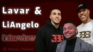 LaVar Ball & LiAngelo Ball Interview at Mustang Madness #LavarBall #MustangMadness #Basketball