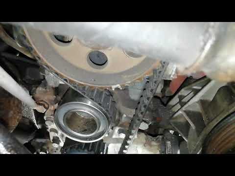 Замена ГРМ и Ford Escort 1.4 бензин