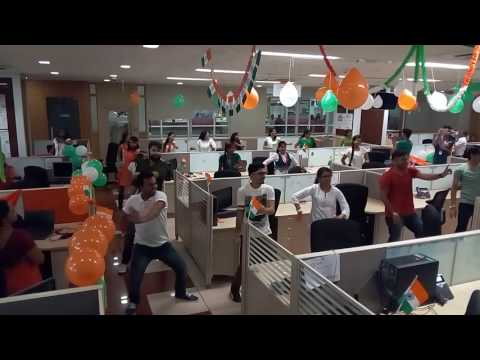 Independence Day TechMahindra FlashMOB