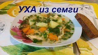 УХА или очень вкусный рыбный суп)))
