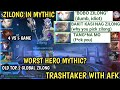 ZILONG WORST HERO IN MYTHIC? | OLD TOP 2 GLOBAL ZILONG | MOBILE LEGENDS
