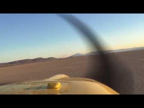 RV9 Landing Alvord Deser