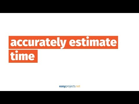 1 Awesome Trick to Accurately Estimate Time - Project Management Made Easy