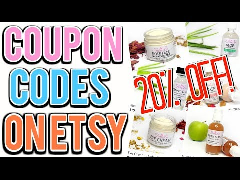HOW TO CREATE COUPON CODES ON ETSY