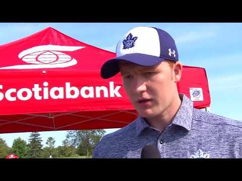 Maple Leafs and Legends Charity Golf Classic: Frederik Andersen - September 11, 2017