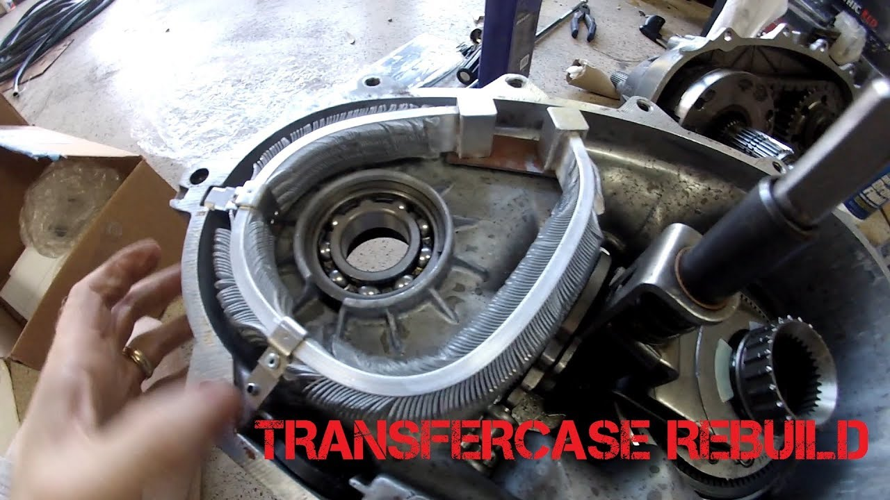 hummer h2 transfer case rebuild