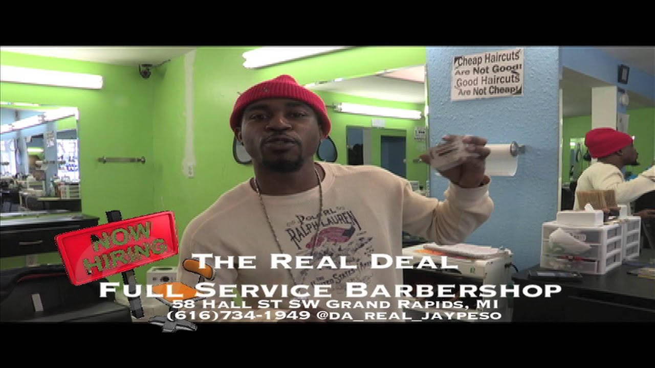 The Real Deal Full Service Barbershop 2013 Youtube