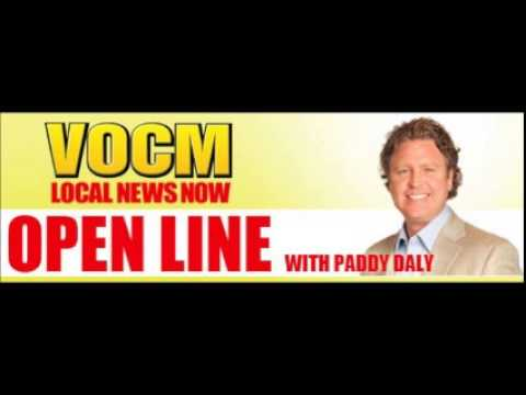 VOCM Open Line Paddy Talks About the Amended General Rate Application June 08 2015