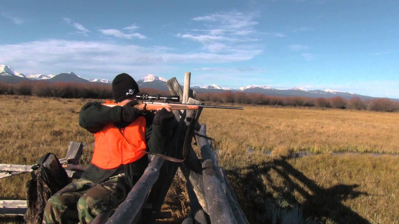 Jackson montana elk hunting youtube for Montana out of state fishing license
