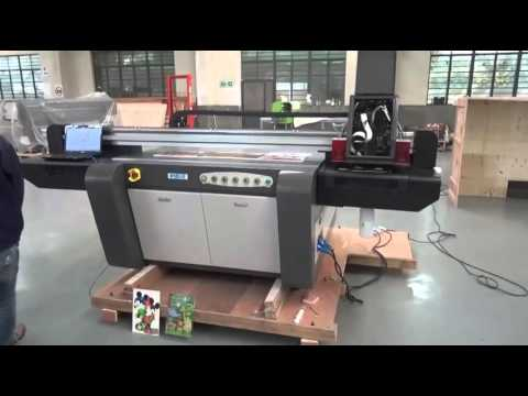 WER EF1310 UV flatbed printer