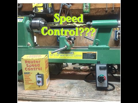 Shop Tools: Harbor Freight Lathe Speed Control