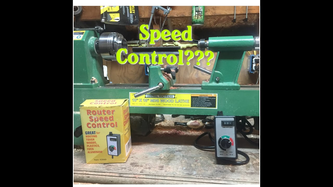 Shop Tools Harbor Freight Lathe Speed Control