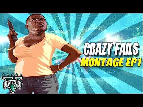 GTA 5 FAILS & EPIC MOMENTS #1 ( GTA 5 Funny Moments Compilation)