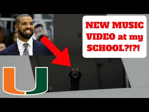 DRAKE VISITS my SCHOOL!!