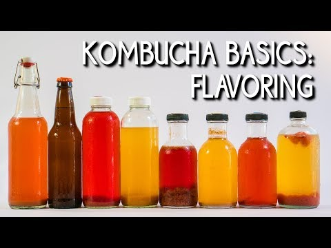Kombucha Basics: Flavoring