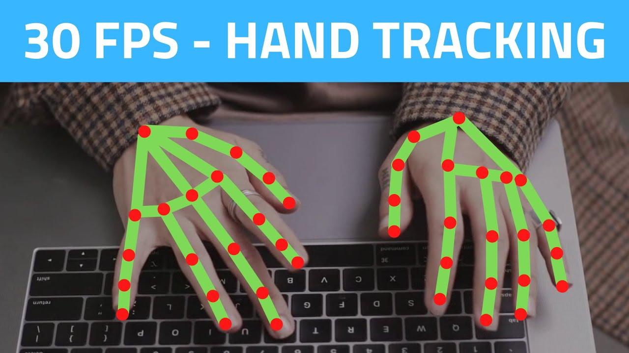 Hand Tracking 30 FPS using CPU | OpenCV Python (2021)