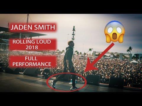 JADEN SMITH  ROLLING LOUD 2018  + MOONWALK