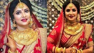 Subhashree Ganguly Wedding Look Recreation