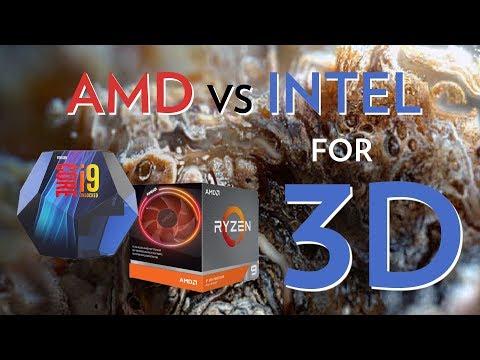 I9 9900k Vs AMD 3900x For 3D