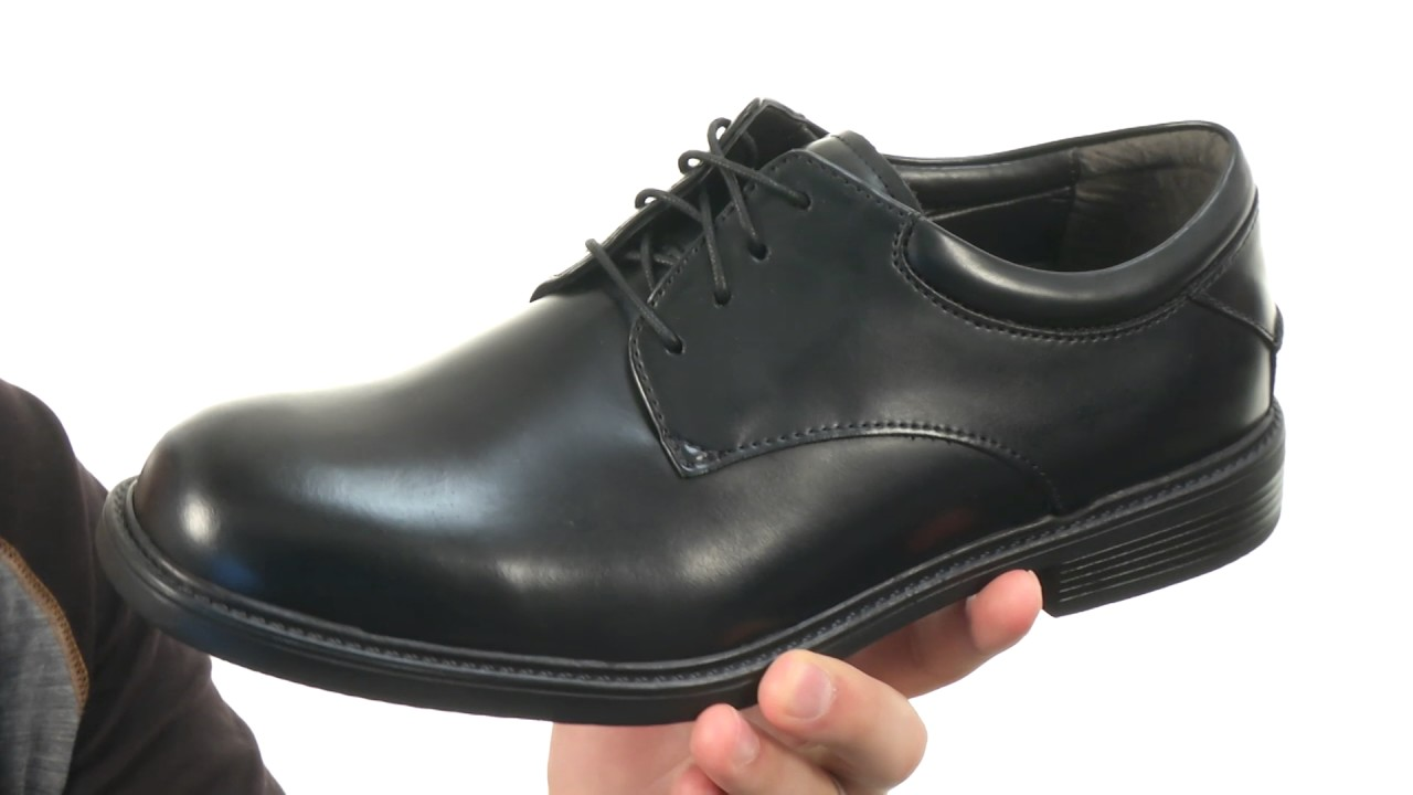 new product fdc31 7e2b4 Nunn Bush Maury Plain Toe Oxford Lace-Up SKU 7260215