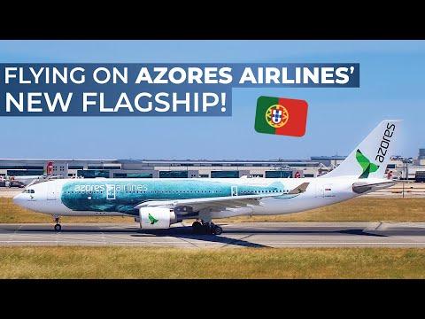 TRIPREPORT | Azores Airlines (Economy) | Airbus A330-200 | Lisbon - Ponta Delgada (Azores) |