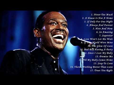 Luther Vandross's Greatest Hits Full Album - Best Songs Of Luther Vandross