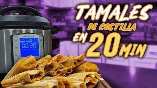 Cómo hacer Tamales en Instant Pot  | EL GUZII