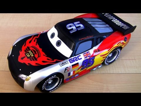 limited edition chrome lightning mcqueen world grand prix cars 2