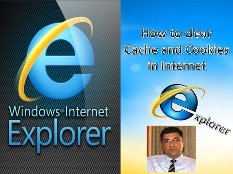 How to clear Cache and Delete Cookies in Internet Explorer?