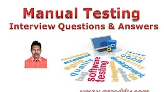 Manual Testing Interview Questions and Answers
