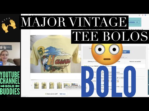 This Seller Knows How To Find Vintage T-Shirts That Sell For Big Money. BOLO Tees WOW!