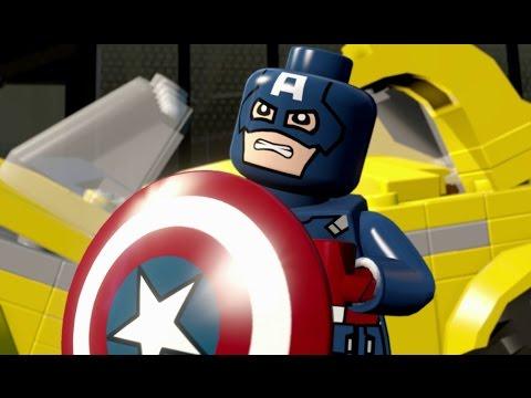 LEGO Marvel's Avengers (Vita) Walkthrough Part 7 - Saving New York
