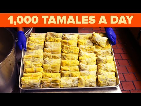 A 100-Year-Old Tamale Recipe From The Oldest Mexican Restaurant In L.A. • Tasty