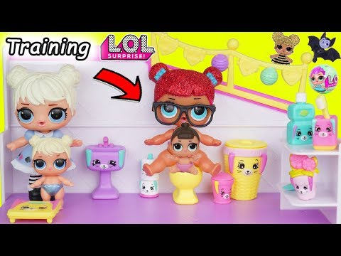 L.O.L. Surprise! Dolls Barbie Babysit Happy Places Lil Sisters Playmobil Holiday Series 3 Unboxed!