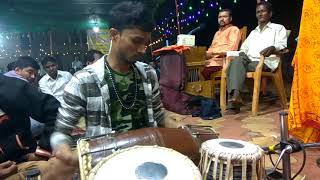 """Electrifying Dholki Solo by, """"Aakash Sawant."""