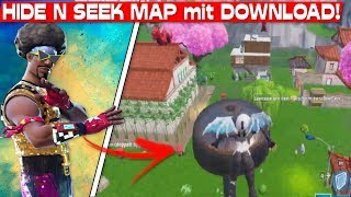 HIDE AND SEEK MAP with DOWNLOAD CODE! | Fortnite Advent Calendar December 18