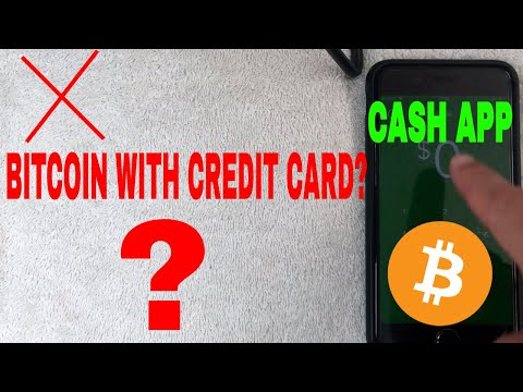 ✅  Can You Use A Credit Card To Buy Bitcoin With Cash App? 🔴