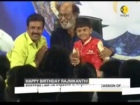Superstar Rajnikanth turns 67 today