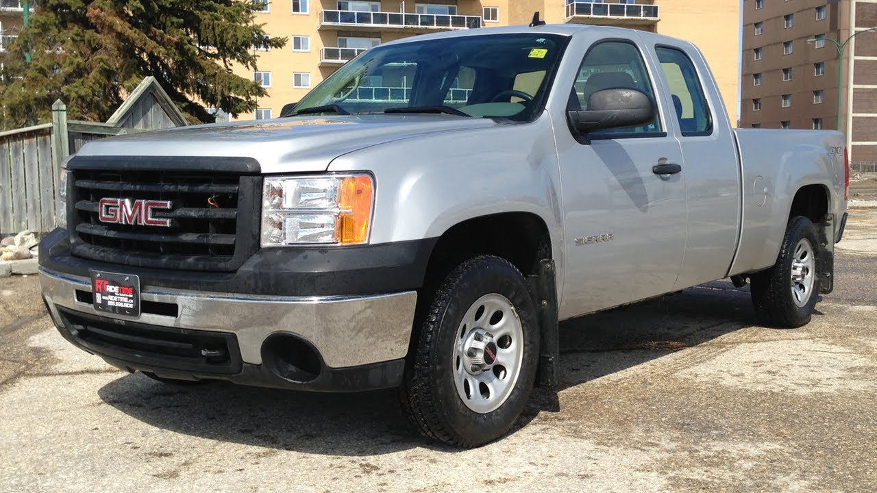 2011 gmc sierra 1500 wt 4x4 cheap used trucks for sale in winnipeg youtube. Black Bedroom Furniture Sets. Home Design Ideas