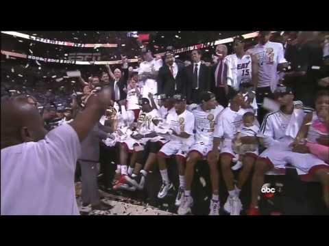 June 20, 2013 - ABC(Trophy) - 2013 NBA Finals Game 07 Miami Heat Vs. San Antonio Spurs - Win (04-03)