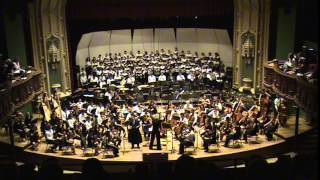 The University of Chicago Symphony Orchestra and Choirs perform Bernstein