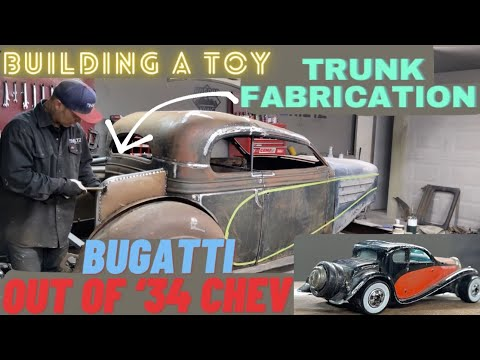 EPISODE 11: BAD CHAD BUILDS (ANOTHER) BUGATTI OUT OF 1934 CHEVY -- TRUNK FABRICATION